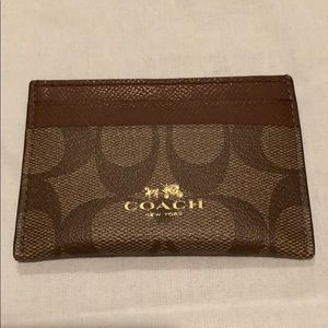 COACH Card Holder